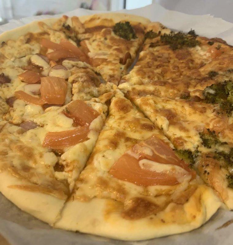 ホットクックで作るピザ